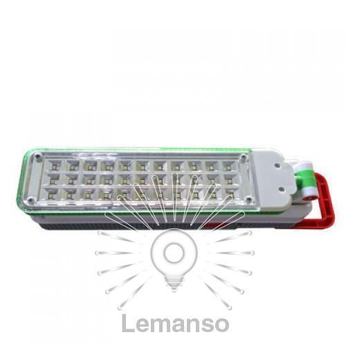 Базука Lemanso 33LED 110-240V 3528SMD 160Lm 6500K / LMB16