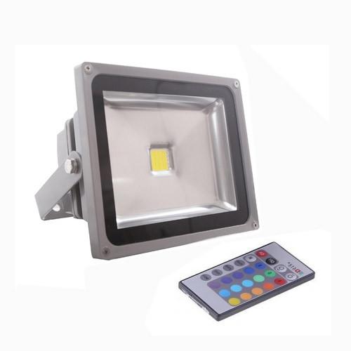 Прожектор LED 50w RGB+пульт 6500K IP65 1LED LEMANSO / LMP50-RGB