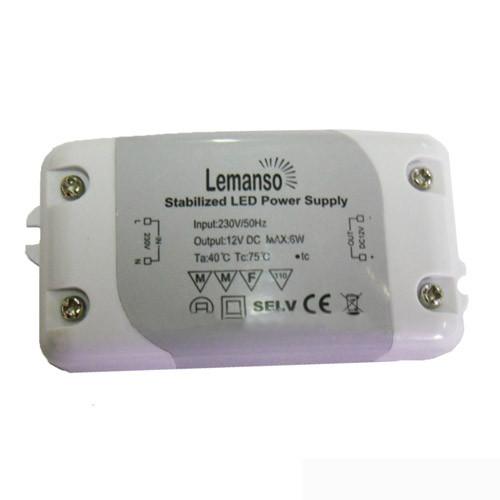 Трансформатор LEMANSO для св/стрічки 6 W LB526