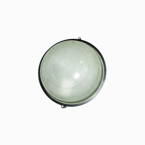 Свет-к LEMANSO круг метал. 100W без реш. BL-1101 черный