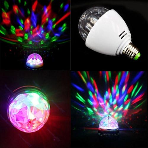 Лампа Lemanso св-ая ДИСКО E27 RGB 3W 230V / LM337