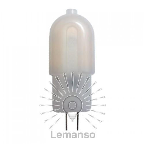 Лампа Lemanso св-ая G4 2,5W 180LM 4500K AC/DC12V / LM703