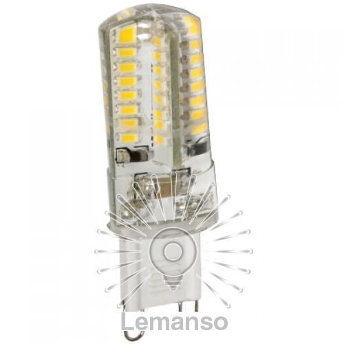 Лампа Lemanso св-ая G9 3W 64LED 230LM 6000K 3014SMD / LM277