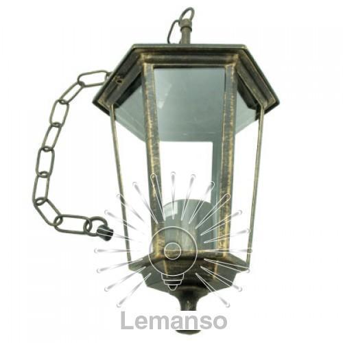 Светильник Lemanso PL6105 античное золото на цепочке 60W