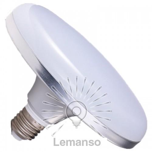Лампа Lemanso св-ва НЛО 24W E27 1440LM срібло 85-265V / LM728