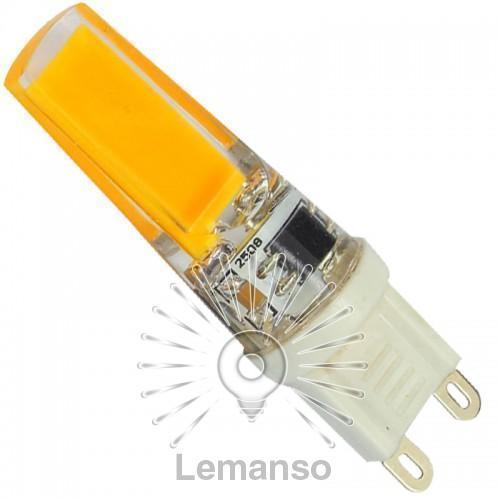 Лампа Lemanso св-ая G9 COB 3W 280-300LM 4500K 230V / LM768