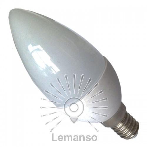 Лампа Lemanso св-ая C37 E14 5,0W 400LM 4500K 170-260V / LM754