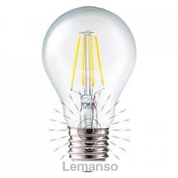 Лампа Lemanso св-ая 6W A55 E27 4LED COB 600LM 4000-4500K / LM338