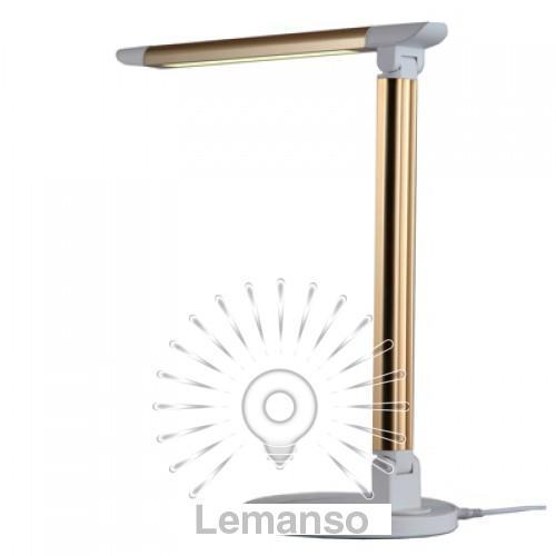 Н/лампа Lemanso 6W 300LM 6000K золото / LMN085
