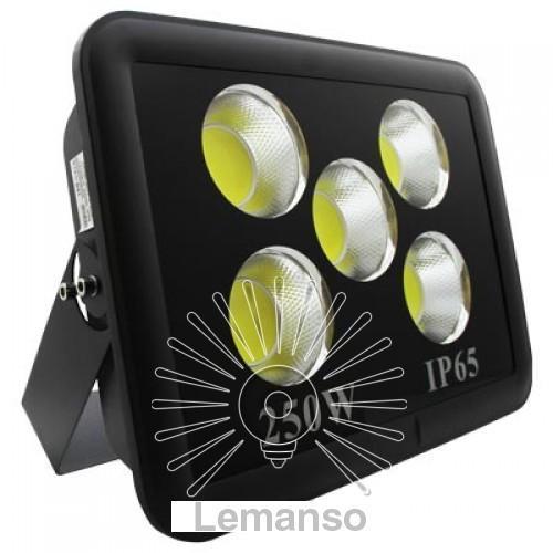 Прожектор LED 250w 6500K 5COB IP65 14100LM LEMANSO чёрный/ LMP36-250