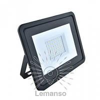 Прожектор LED 50w 6500K IP65 3200LM LEMANSO чёрный/ LMP15-50