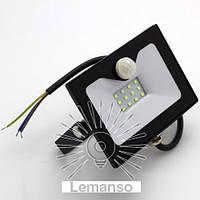 Прожектор LED 10w 6500K 800LM LEMANSO со встроенным датчиком / LMPS15