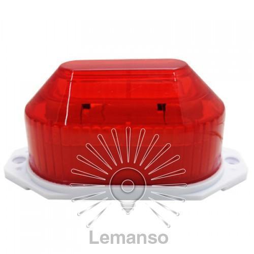 Стробоскоп Lemanso червоний LR637
