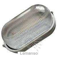 Светильник LED Lemanso 12W овал чёрный 170-265V 960LM IP65 / LM972