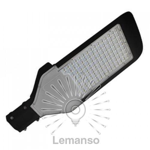 Світильник на стовп Lemanso smd 50W 45000LM 6500K 4KV чорний/ CAB57-50