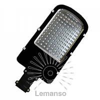 Светильник на столб SMD Lemanso 50W 5000LM 6500K 100-265V защита от грозы 4KV чёрный / CAB53-50
