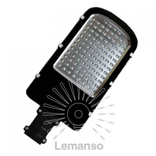 Світильник на стовп SMD Lemanso 30W 3000LM 6500K 100-265V захист від грози 4KV чорний / CAB53-30
