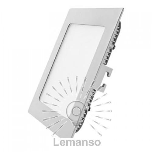 LED панель Lemanso 12W 840LM 165-265V 6500K квадрат / LM595