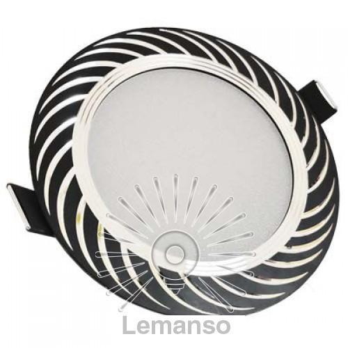 LED панель Lemanso 7W 560LM 4500K чёрный / LM489