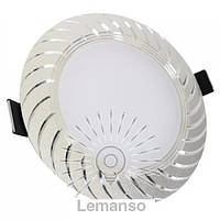 LED панель Lemanso 7W 560LM 4500K хром / LM489