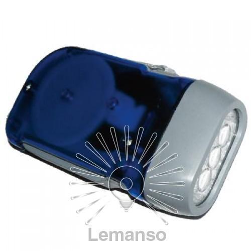 Ліхтарик LEMANSO 3 LED синій / LMF33