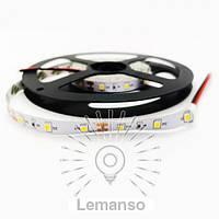 Св/лента LEMANSO IP20 5m 60SMD 2835 12V белая 5W/м 360LM / LM592