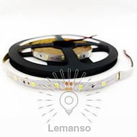 Св/лента LEMANSO IP20 5m 60SMD 12V т/белый 5W/м 6LM/led (цена за 1м) / LM587