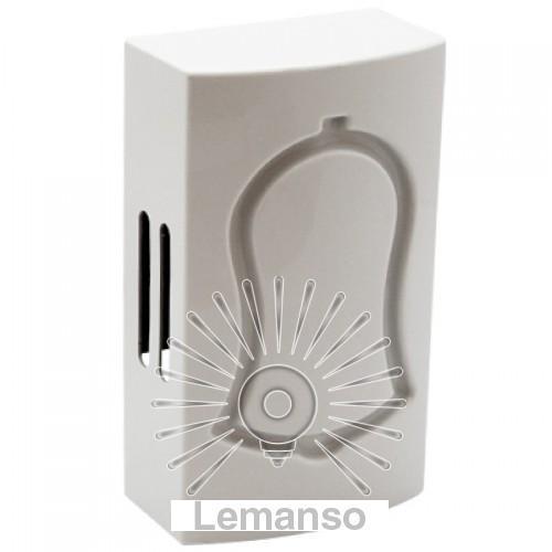 Механический звонок динг–донг Lemanso 230V LDB32 белый