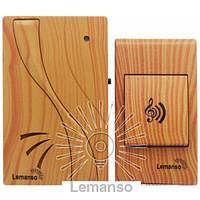 Звонок Lemanso 12V LDB53 ольха