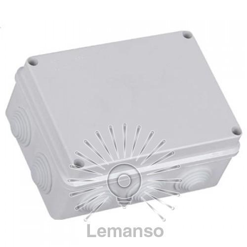 Расп. коробки LEMANSO 400*350*120 квадрат / LMA214 с резиновыми заглушками