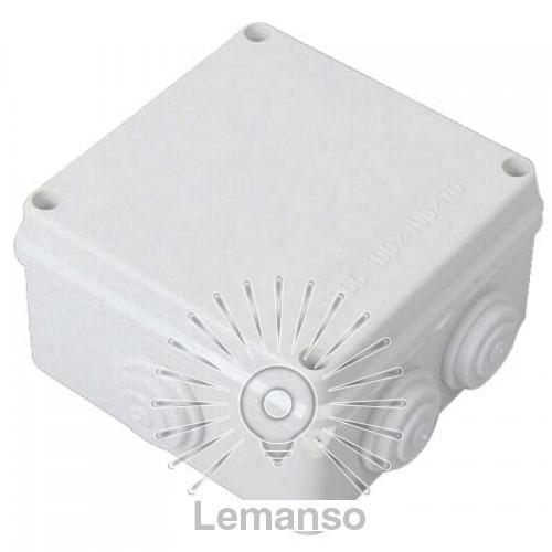 Расп. коробки LEMANSO 150*150*70 квадрат / LMA208 с резиновыми заглушками
