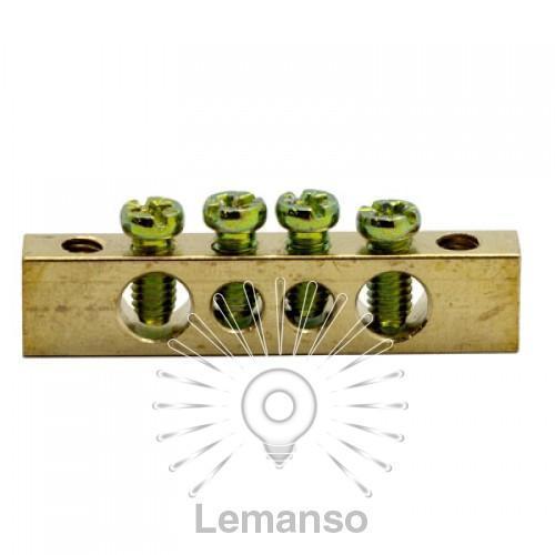 Шина соединительная 6*9 12/2 Lemanso / LMA069