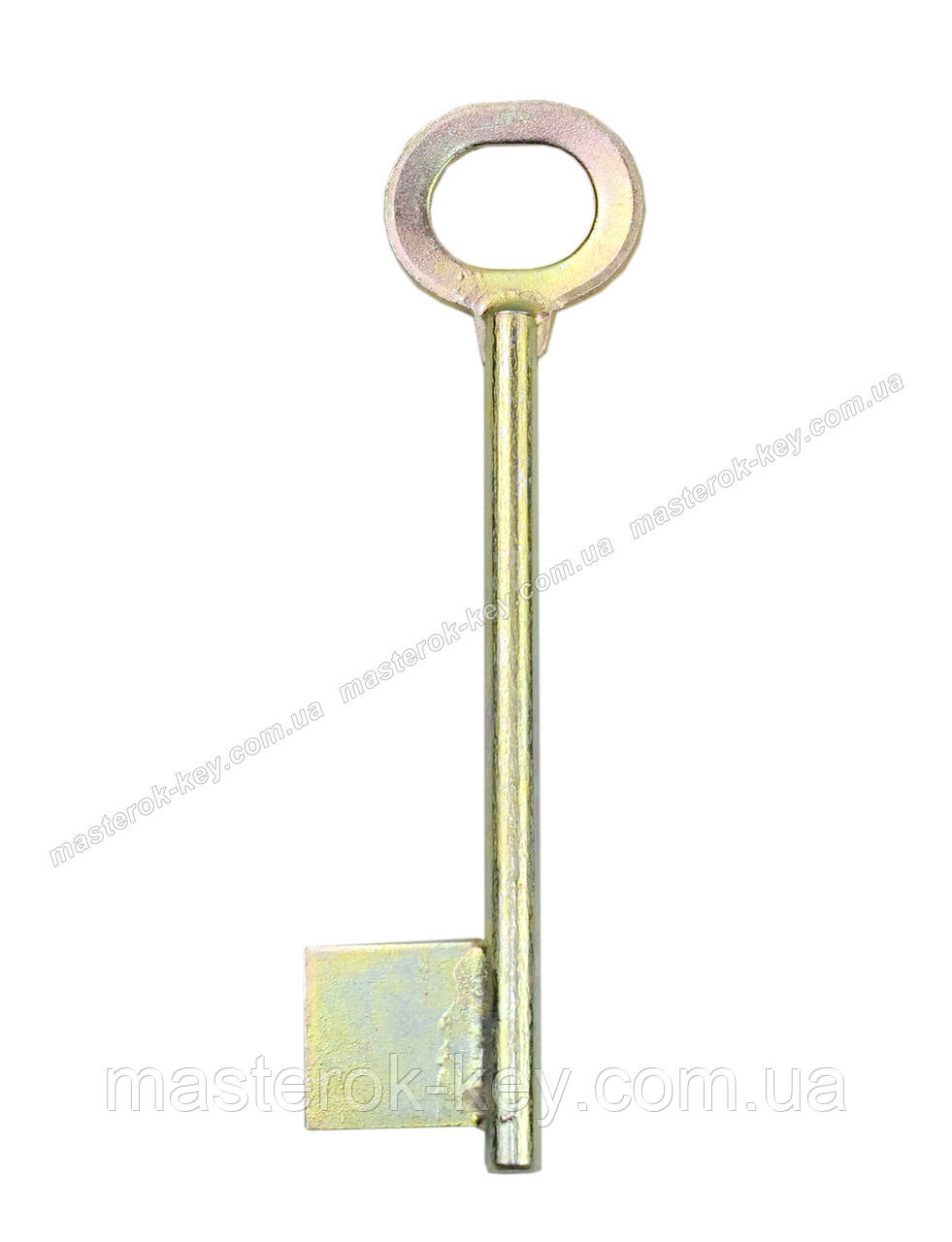 Заготовка ключа ЖЕЛТОВОДЬЕ 6мм без отверстия с носиком