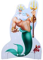 Вешалка Русалочка Дизайн Дисней Нептун