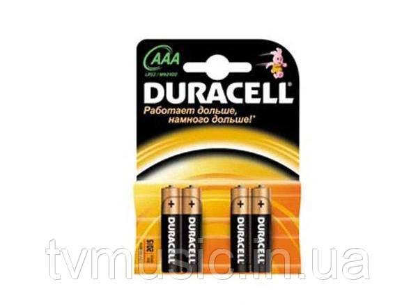 Батарейки Duracell AAA (LR03) MN2400