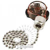 Выключатель Lemanso с цепочкой хром LMA031