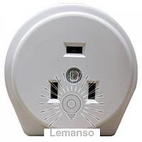 Гнездо д/электроплит однофазное c заземл. белое Lemanso LMA315