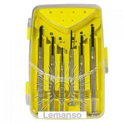 Набор прецизионных отверток 6шт. LEMANSO LTL10017
