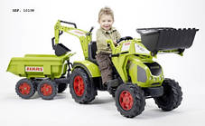 Педальний Трактор з Причепом і двома Ковшами Falk 1010W, фото 2