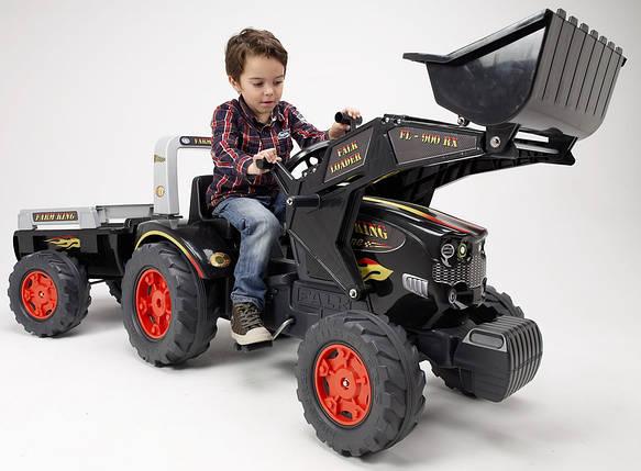 Трактор Педальный с Прицепом и Ковшом King Falk 1075М, фото 2