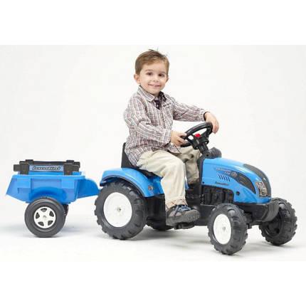 Трактор педальный с прицепом Landini Falk 2050C, фото 2