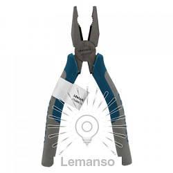 """Плоскогубцы LEMANSO 6"""" LTL20055 бирюзовый, CRV60"""