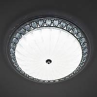 Потолочный светодиодный светильник LUMINARIA CASABLANCA CHROME 72W R 515 ON/OFF WHITE 220 IP20