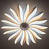 Стельовий світильник світлодіодний з пультом ДУ LUMINARIA LILIYA DOUBLE 85W R633 WHITE 220V IP44, фото 2