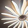 Стельовий світильник світлодіодний з пультом ДУ LUMINARIA LILIYA DOUBLE 85W R633 WHITE 220V IP44, фото 3