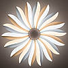 Стельовий світильник світлодіодний з пультом ДУ LUMINARIA LILIYA DOUBLE 85W R633 WHITE 220V IP44, фото 4