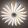 Стельовий світильник світлодіодний з пультом ДУ LUMINARIA LILIYA DOUBLE 85W R633 WHITE 220V IP44, фото 9