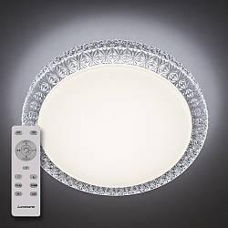 Потолочный светодиодный светильник с пультом ДУ LUMINARIA PLUTON 40W R400 SHINY 220V IP44