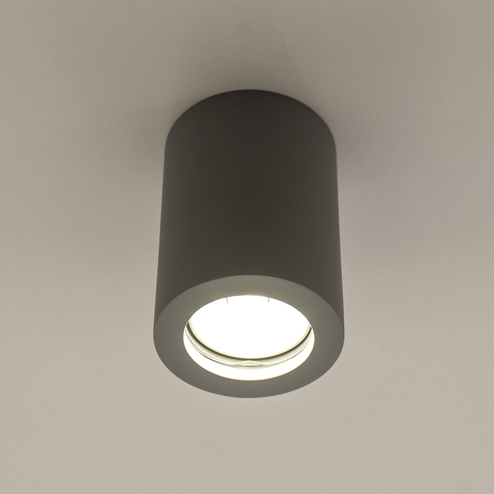 Накладной точечный светильник LUMINARIA  GYPSUM LINE Lester R1801 GR (Серый)