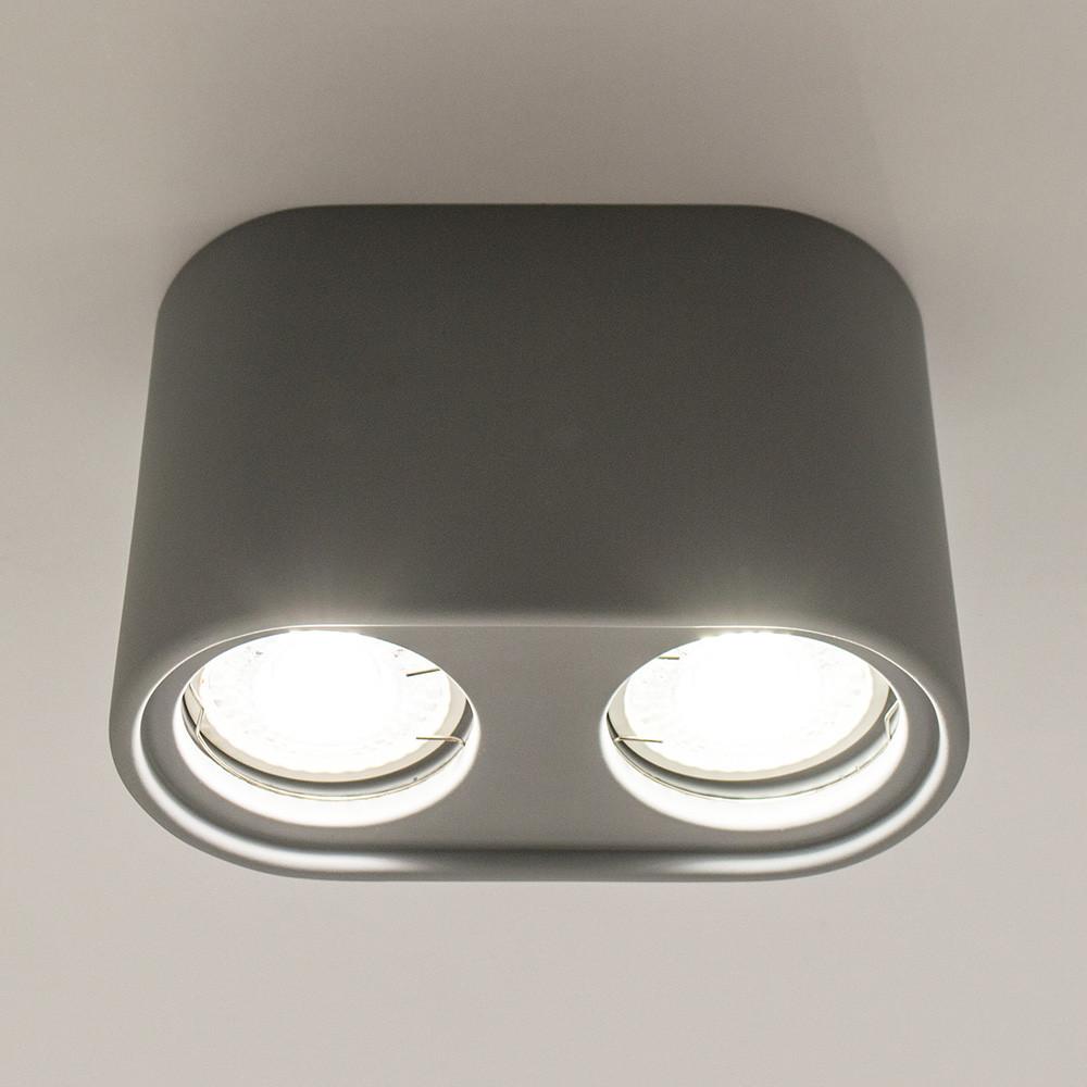 Накладной точечный светильник LUMINARIA  GYPSUM LINE Bristol R1803-2 GR (Серый)